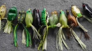 Artificial Frogs for fishing