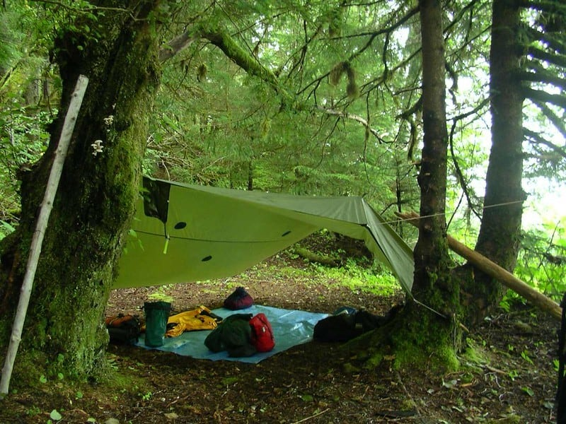 camping without tents