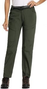 Womens Casual Outdoor Quick Dry convertable Pants
