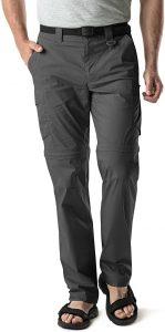 CQR Mens Convertible hiking Pants