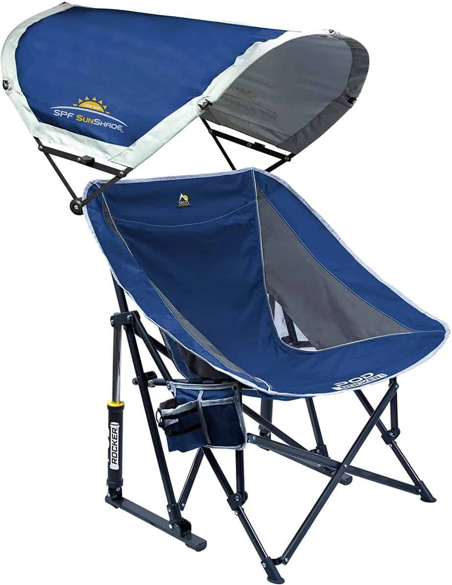 6. GCI Outdoor Pod Rocker Collapsible Camping Chair