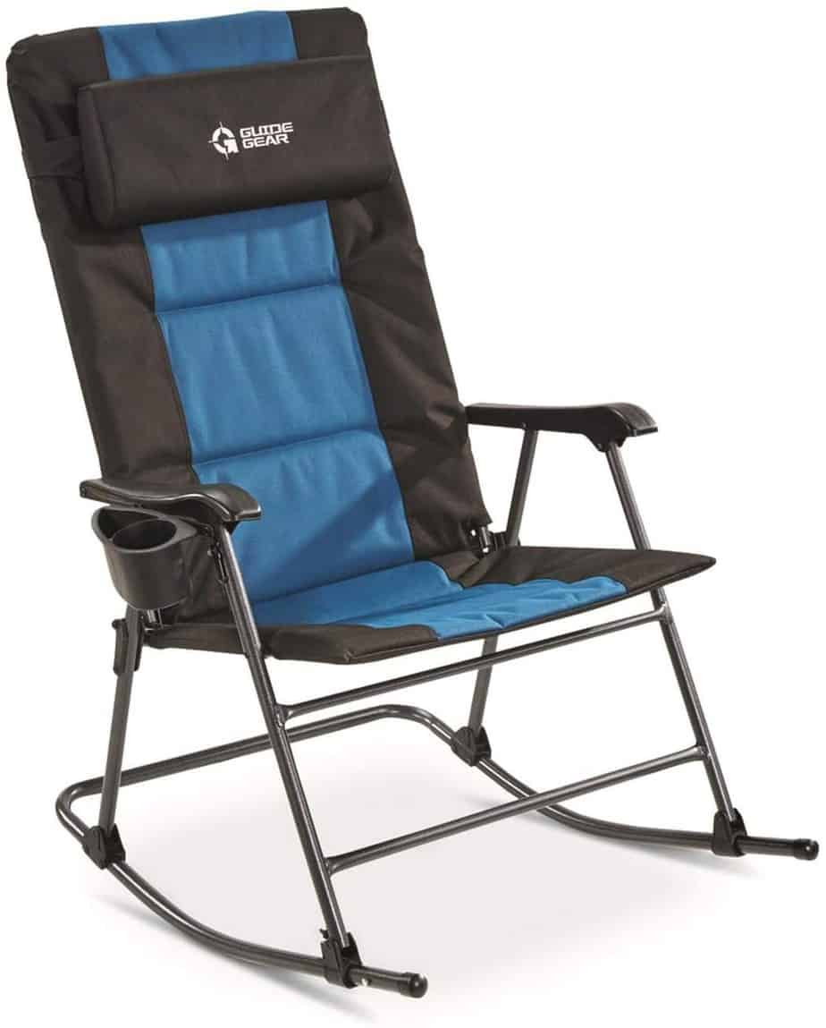 5. Guide Gear Oversized Rocking Camp Chair