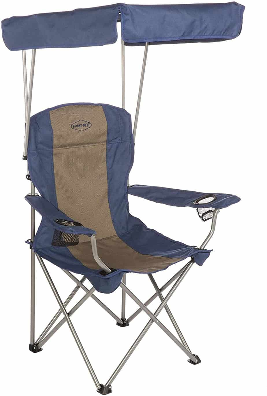 8. Kamp-Rite Chair with Shade Canopy