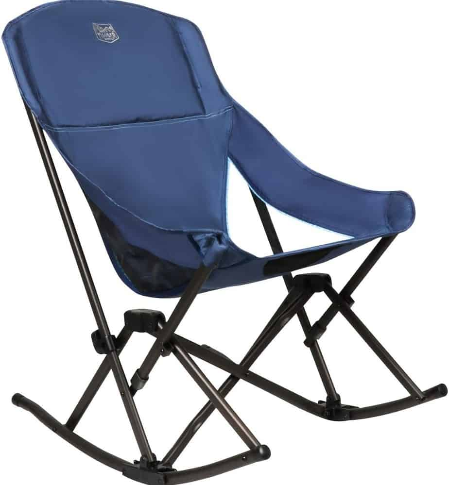 8. Timber Ridge Capsule Folding Rocker Camping Chair