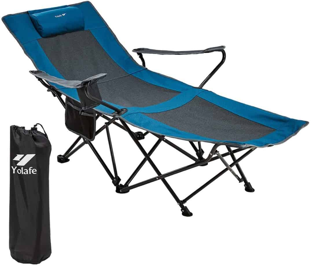 7. Yolafe Camping Chair with Footrest